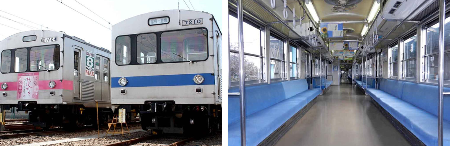 飯坂電車7000系